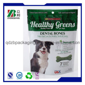 Stand up Dog Food Bag with Euro Hole Top Zipper pictures & photos
