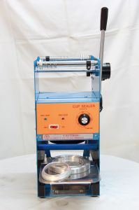 Semi-Auto Cup/Tray/Bow Sealing Machine (ET-B7)