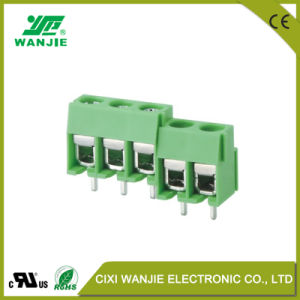 China Factory PCB Male Female Screw Terminal Block Connector with High Current Wj126/126r, Pitch 5.0/10.0 pictures & photos