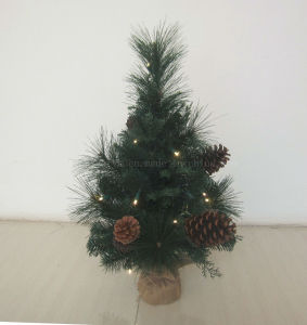 pre lit 60cm table tree with 20 battery operately tree