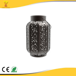 Wholesale High Efficiency Hot Selling Cut-out Round Solar Lantern
