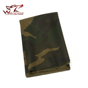 Airsoft Tactical Army Scrim Camouflage Scarf Face Veil Mask pictures & photos