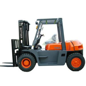 5.0 Ton Diesel Engine Forklift for Sale pictures & photos