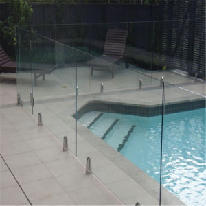Toughened Glass Balustrade Frameless Glass Balcony Railing with AS/NZS2208 pictures & photos