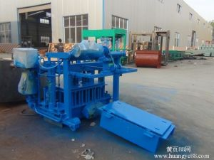 Movable Portable Mobile Brick Block Making Machine Qt40-3A pictures & photos