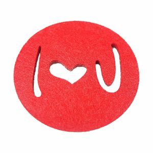 Holiday 100% Felt Coasters for Cups & Decorations