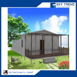Best Quality with a Balcony Prefab Granny Flat Tiny House for Sale pictures & photos
