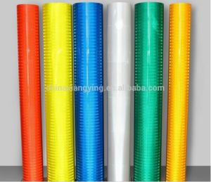 1.22X45.7m High Visibility Diamond Grade 3m Quality Micro Prismatic Type Reflective Sheeting pictures & photos