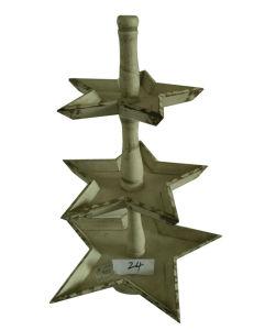Western Christmas Tree Decorations.Western Festival Decortions Small Wood Christmas Tree Model Crafts