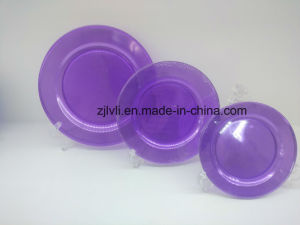 Plastic Plate, Disposable, Tableware, Tray, Dish, Colorful, PS, SGS, PA-02