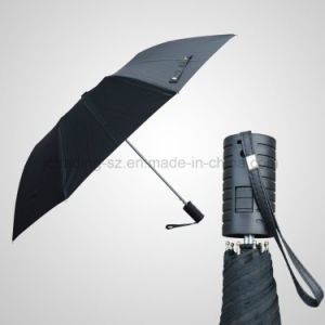 2 Section Automatic Open Advertising Umbrella