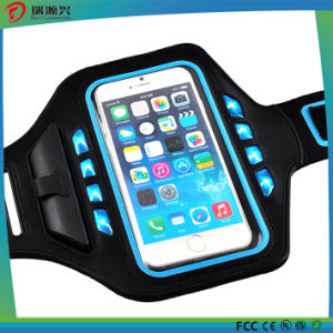 Waterproof Running Fashion Armband Leather Case for iPhone6s Plus 5