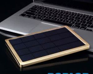 10000 mAh Haochang Brand Portable Solar Power Bank for Outdoor Charging Use pictures & photos