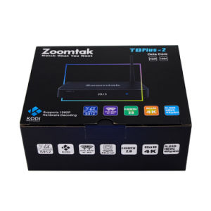 Octa Core Zoomtak T8plus-2 Android 6.0 TV Box with 2GB RAM 16GB ROM pictures & photos