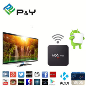Mxq PRO 1g8g Android 6.0 TV Box S905X for TV with 2.4 WiFi and Best Bluetooth Kodi Preinstalled pictures & photos