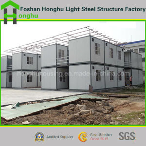 Prefabricated House Project Site Prefab Container House pictures & photos