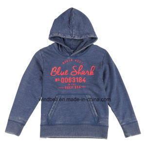 Hoody for Boy with Burn out pictures & photos