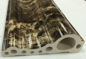 Fashion Marble Pattern PVC Moulding Foam Cornice with High Quality pictures & photos