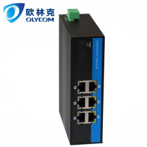 6UTP fast Ethernet network switch with industrial grade(IM-PS064)
