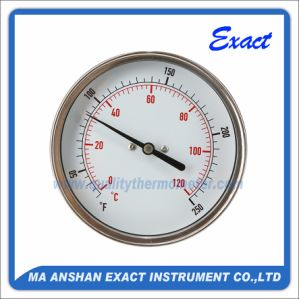 Stainless Steel Thermometer-Bimetal Thermometer-Temperature Gauge