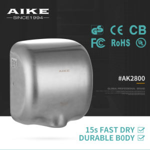 AK2800 China Electronic Home Appliance Xlerator Style Wall Mounted Touchless Stainless Steel Hand Dryer