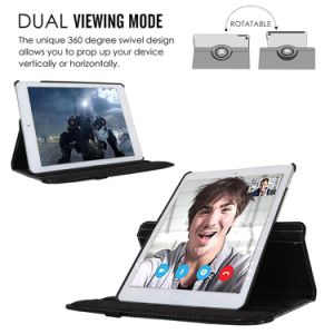 360 Degree Rotating Stand Smart Tablet Case for iPad pictures & photos