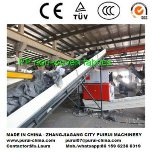 Austria Technology Plastic Recycling Washing Machine for PP Non Woven Fabric pictures & photos