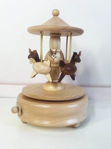 Merry-Go-Round Wooden Music Box Movements pictures & photos