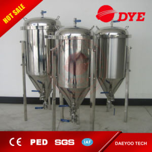 100L/ 200L Stainless Steel Conical Beer Fermentor/ Beer Fermenter