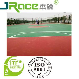 Excellent Quality Sports Surface for Basketball/Tennis/Badminton and Volleyball Court pictures & photos