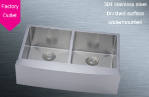 Stainless Steel Double Bowl Kitchen Sink R332255