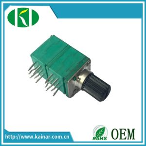 9mm Rotary Potentiometer with 4 Gang Wh9011ap-4