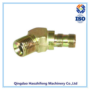 CNC Machining Part for Hydraulic Tube Fitting pictures & photos