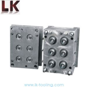 6 Cavity Cap Mould Tooling with Professional Design