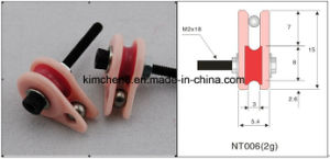 Caged Ceramic Pulley (18*8*M2) Wire Guide Tensioner Control (NT006) pictures & photos