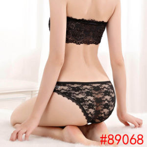 44140fbd9 China Yun Meng Ni Sexy Underwear Back Transparent Lace Girls Briefs Cotton  Ladies Panties - China Underwear Women′s Briefs Woman Panty
