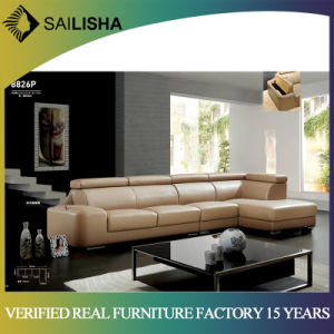 New Design Couch Home Furniture Living Room Modern Corner Leather Sofa