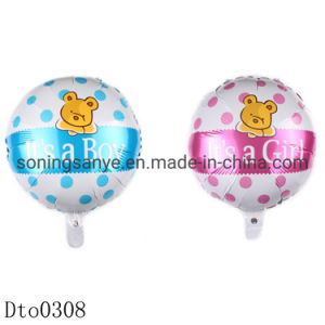 China Dto0308 18 Inch Baby Shower Happy Birthday Foil Balloon For Birthday Party Decoration Party Supplies Hot Sell Baby Boy Girl China Toy And Gift Price