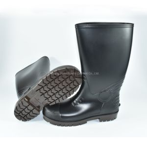 Safety Rain Boots with Steel Toe and Steel Sole