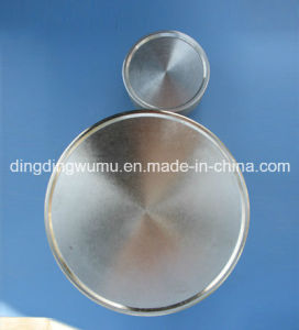 Pure Molybdenum Disc Target for Vacuum Sputtering Coating pictures & photos