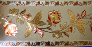 Gold Foil Wallpaper Border (RS18001)
