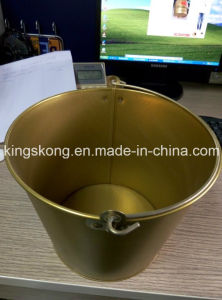 High Quality Metal Galvanized Ice Bucket Wiht Customized Logo pictures & photos