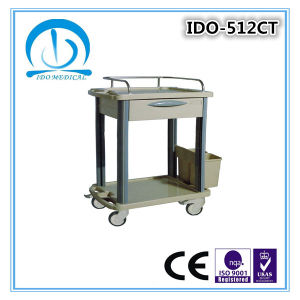 Ce ISO Approved ABS Treatment Trolley