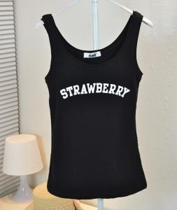 Cotton Black Fashion Custom Women Tank Top pictures & photos