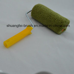 Piile 18mm Green Thread Polyamide Paint Roller with Plastic Handle pictures & photos