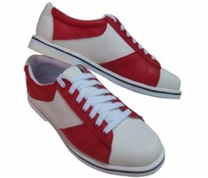 PU Leather Bowling Rental Shoes pictures & photos
