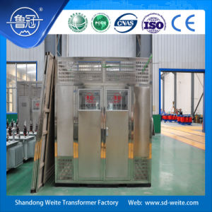 33kv Air-Cooled Cast Resin Dry-Type Distribution Transformer with Protection Case