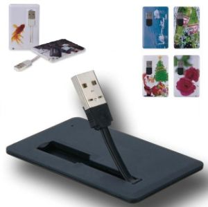 Promotional Gift Card Pen Drive with Your Logo pictures & photos