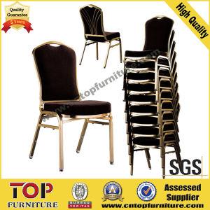 Metal Stackable Back Design Banquet Chair
