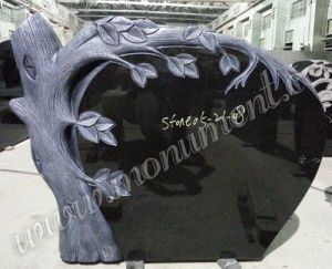 Tree Style Granite Headstone (MU-509)